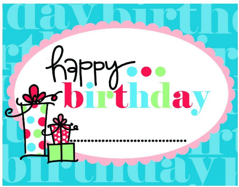 Free Happy Birthday Banners Templates