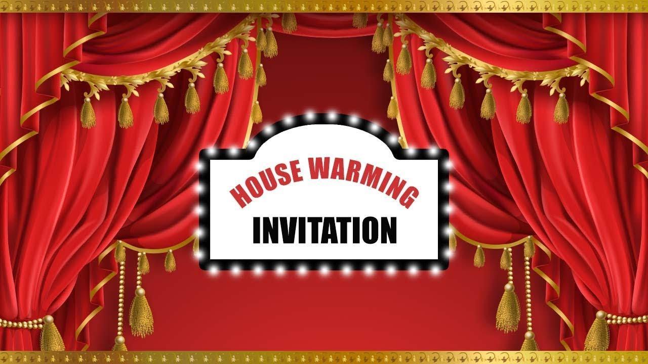 Free Housewarming Invitation Video Maker