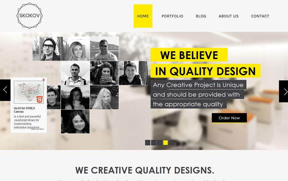 Free Html Responsive Websites Templates