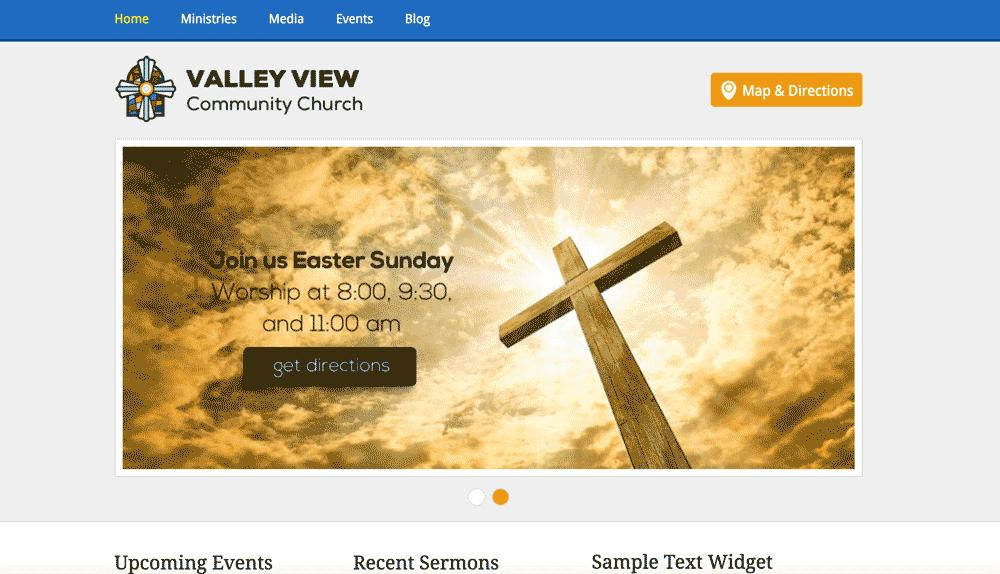 Free Html Website Templates For Churches