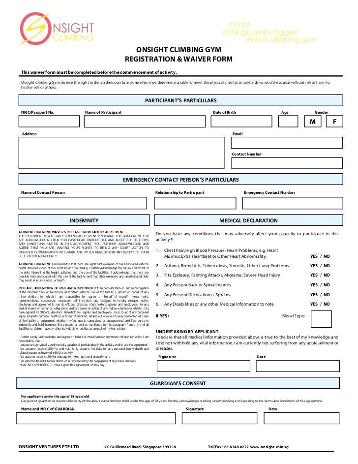 Free Indemnity Form Template South Africa