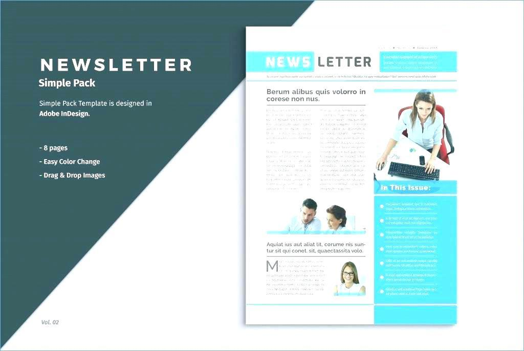 Free Indesign Business Newsletter Templates