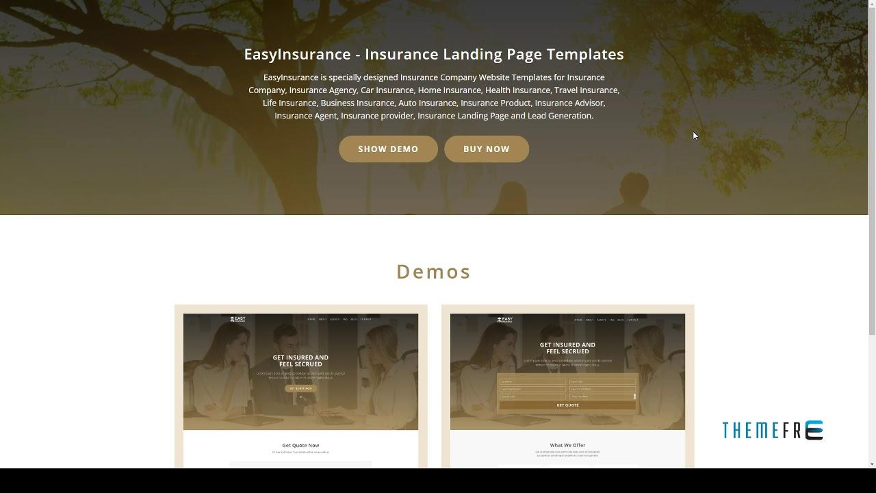 Free Insurance Email Marketing Templates