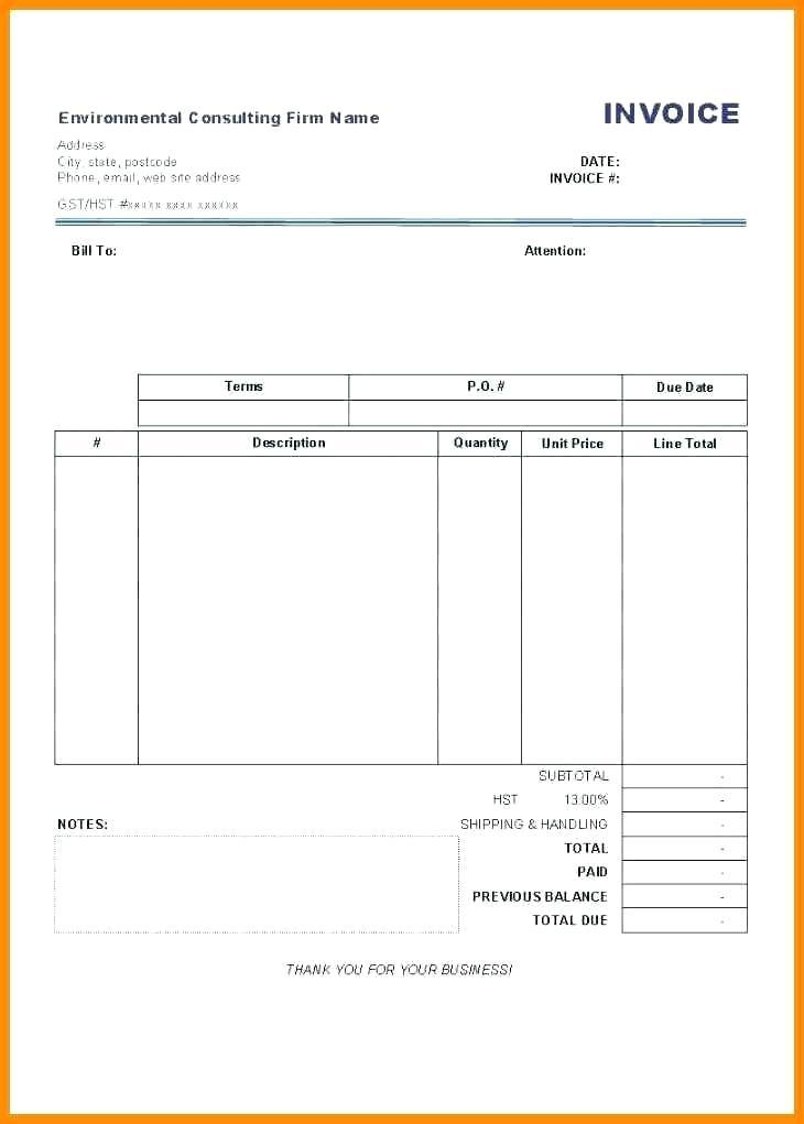 Free Invoice Template For Apple Mac
