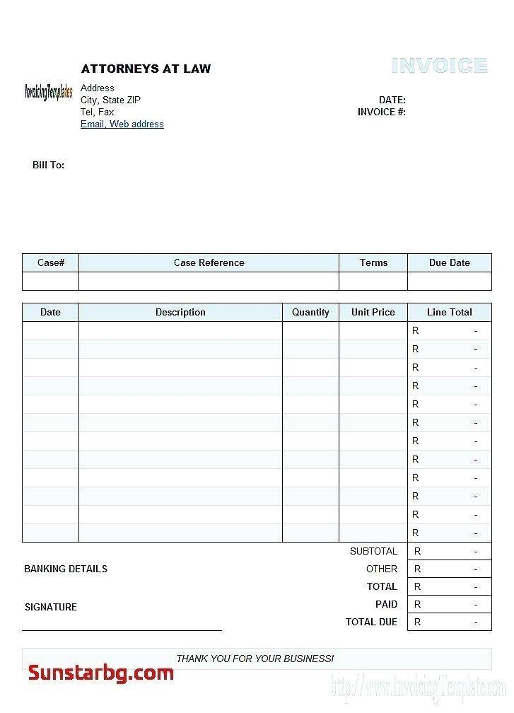 Free Invoice Templates Australia