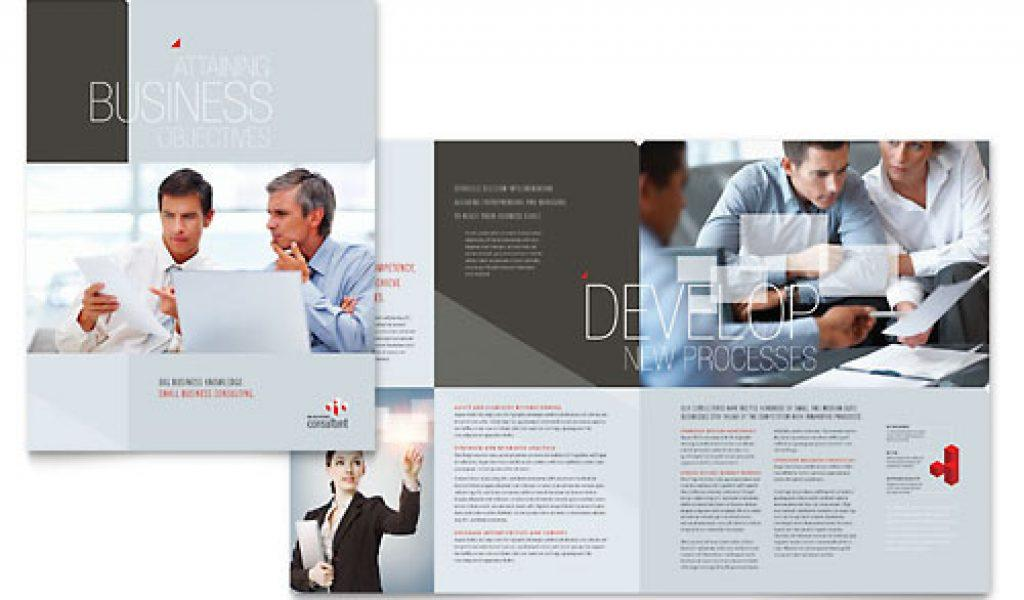 Free It And Business Consulting Brochures Templates