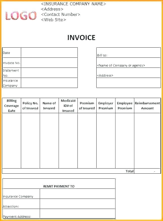 Free Itemized Medical Bill Template