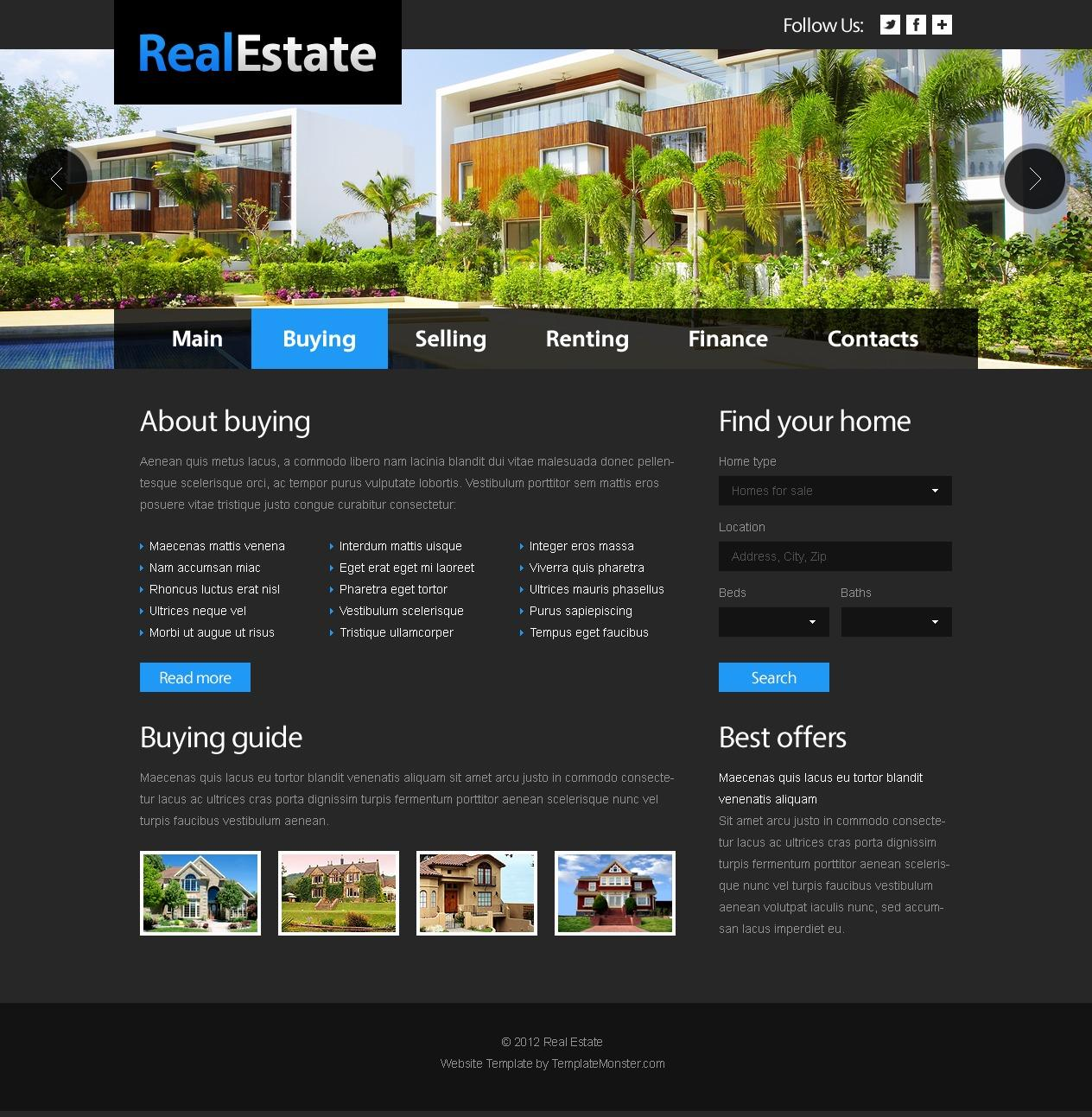 Free Joomla Templates For Real Estate Sites