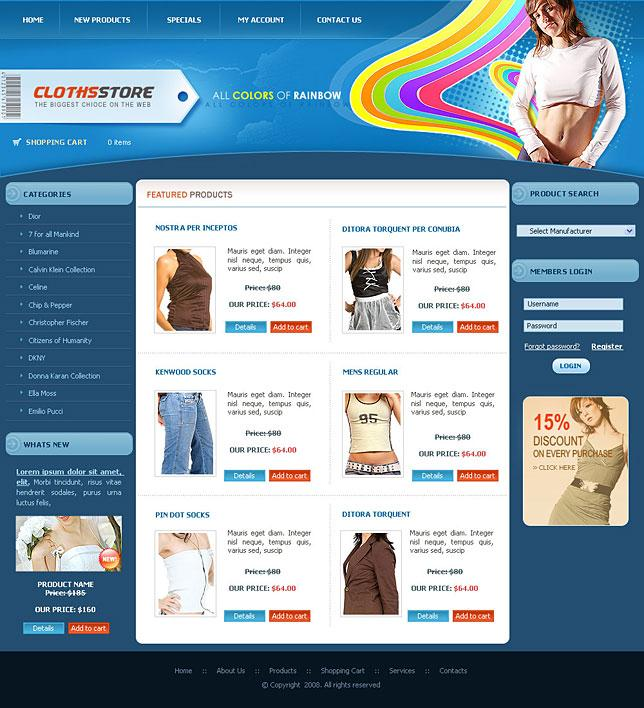 Free Magento Website Templates