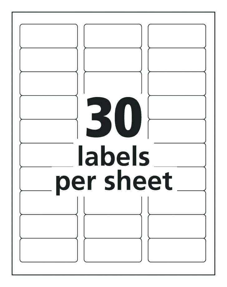Free Mailing Labels Template