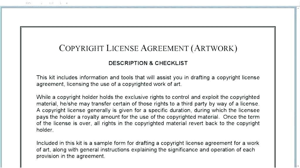 Free Manufacturing License Agreement Template