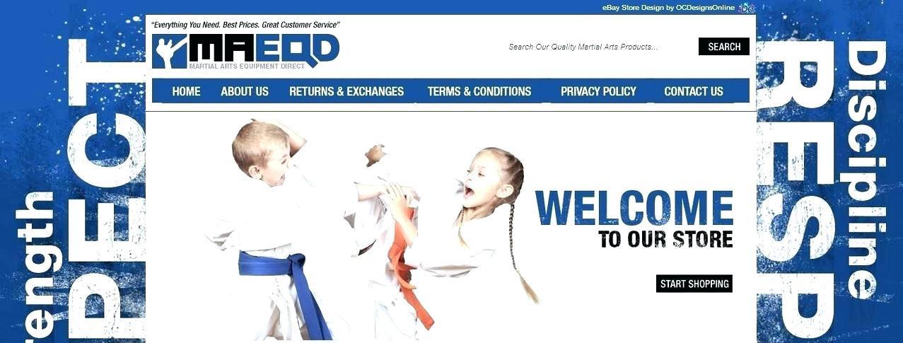 Free Martial Arts Website Templates