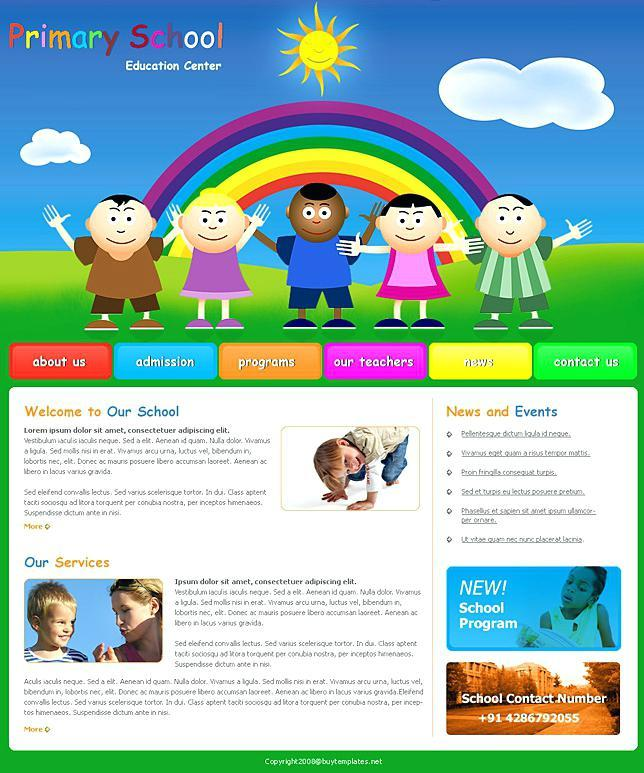 Free Microsoft Frontpage Website Templates