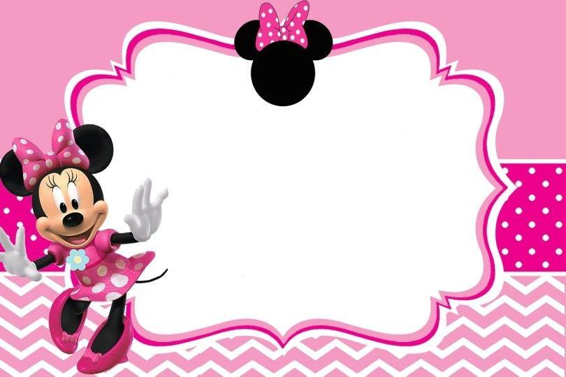 Free Minnie Mouse Birthday Invitation Maker