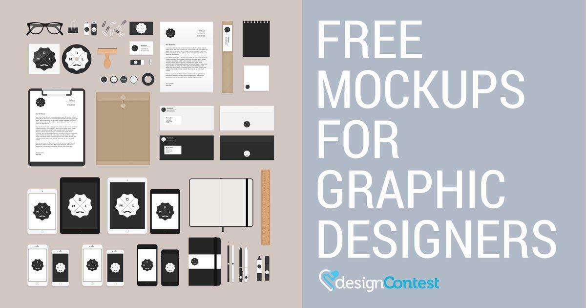 Free Mockup Templates For Designers