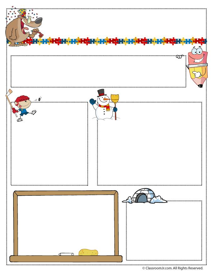 Free Monthly Newsletter Template For Teachers
