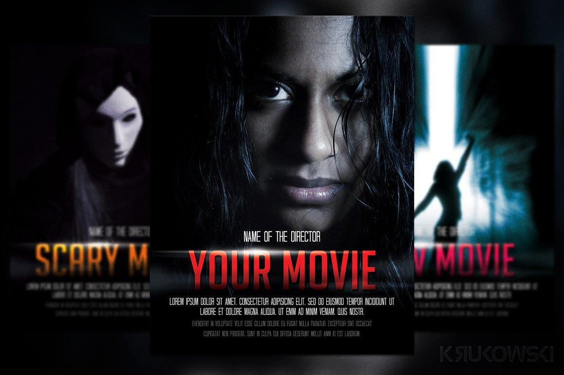 Free Movie Poster Template Photoshop