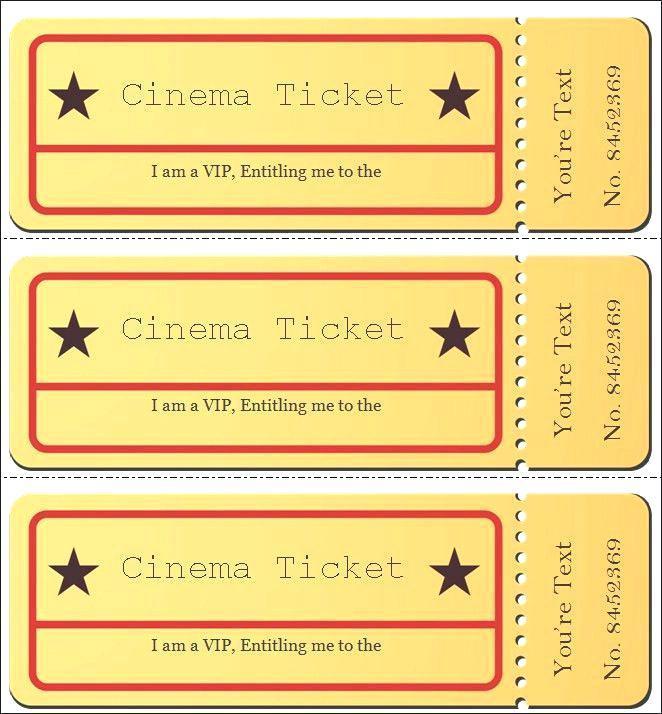 Free Movie Premiere Invitation Template