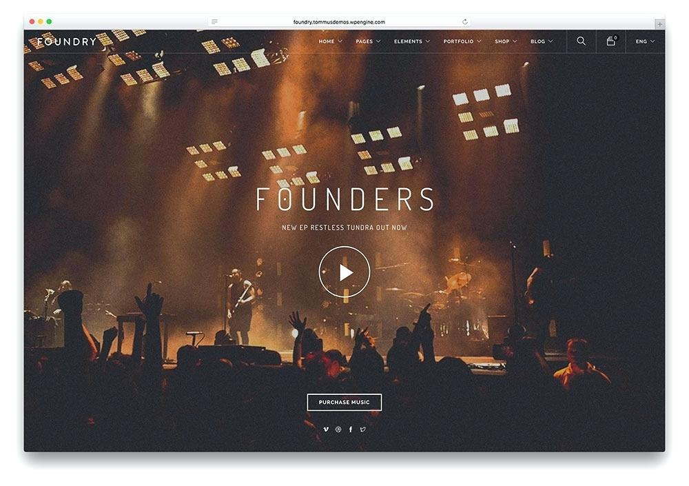 Free Music Recording Studio Website Templates