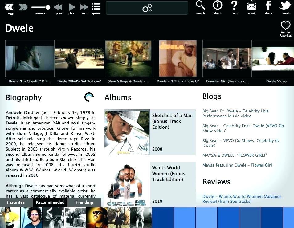 Free Musician Web Templates