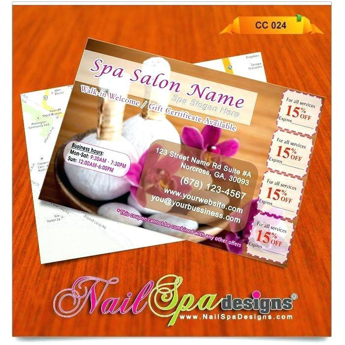 Free Nail Gift Voucher Templates