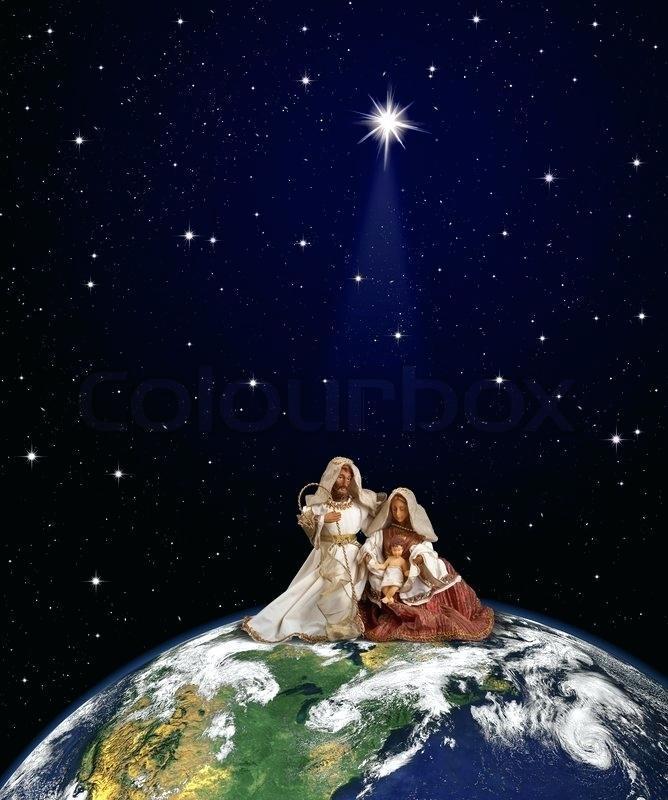 Free Nativity Scene Powerpoint Templates