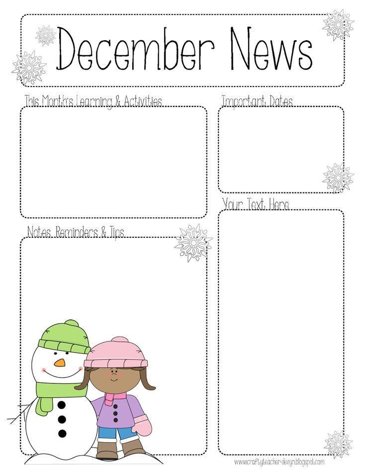 Free Newsletter Calendar Templates