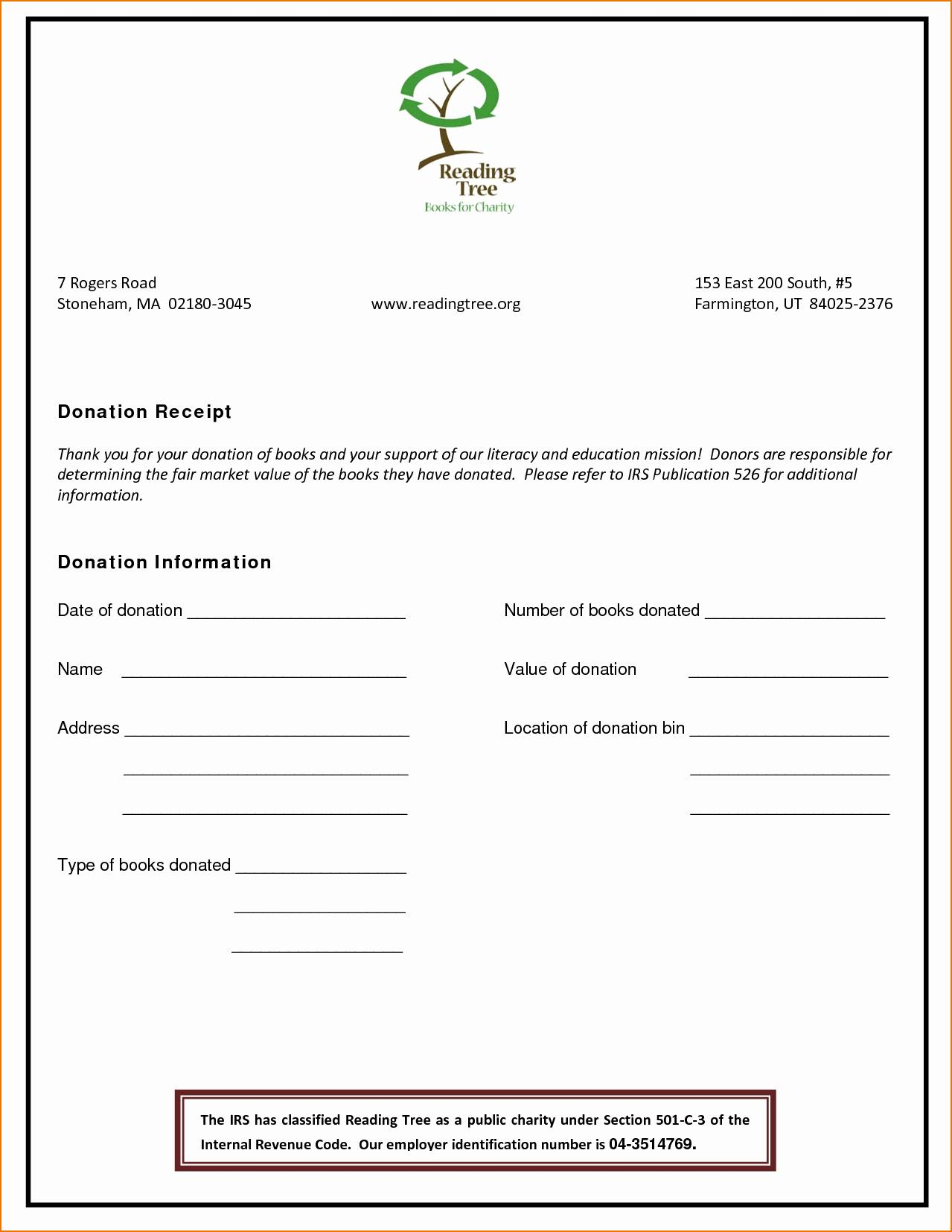 Free Non Profit Donation Form Template