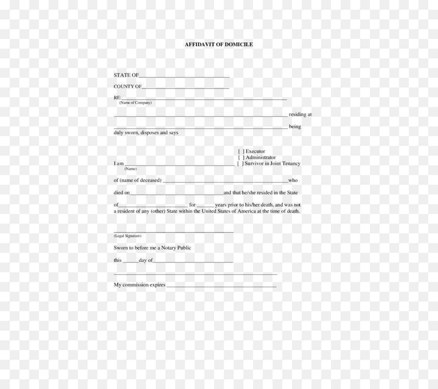 Free Notary Document Template
