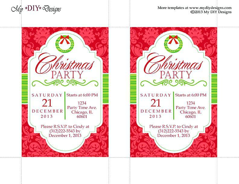 Free Office Holiday Party Flyer Templates