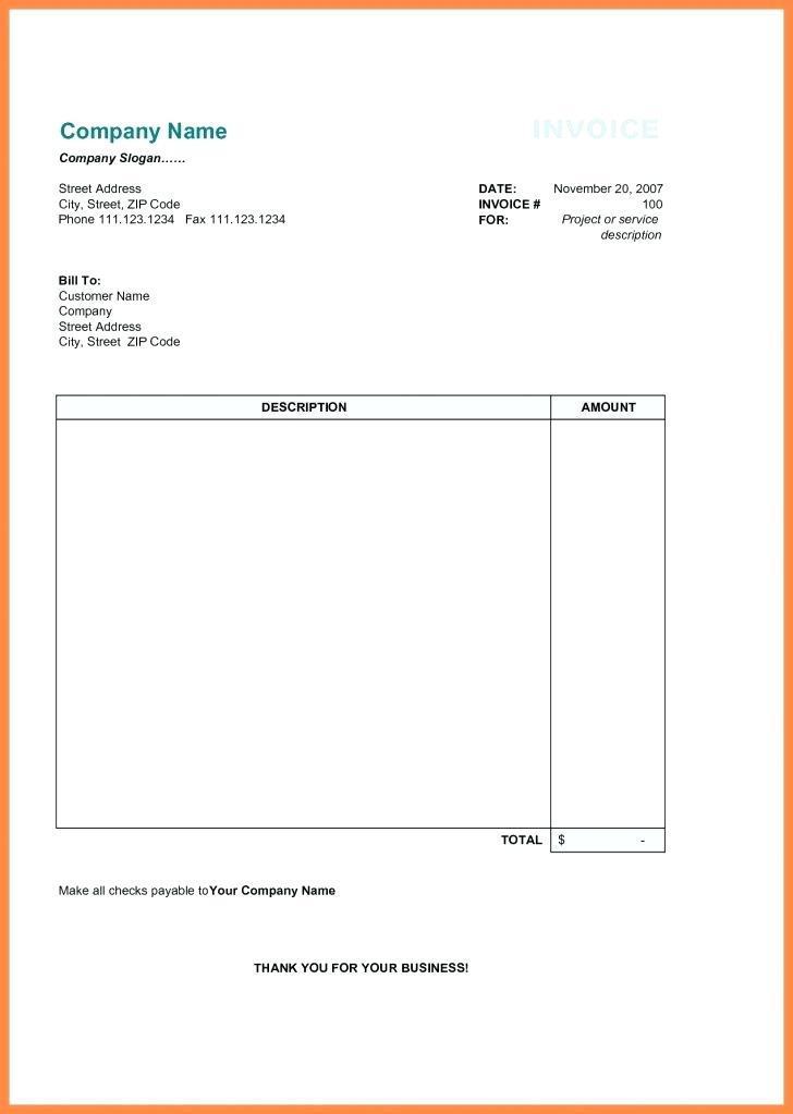 Free Online Sales Invoice Templates