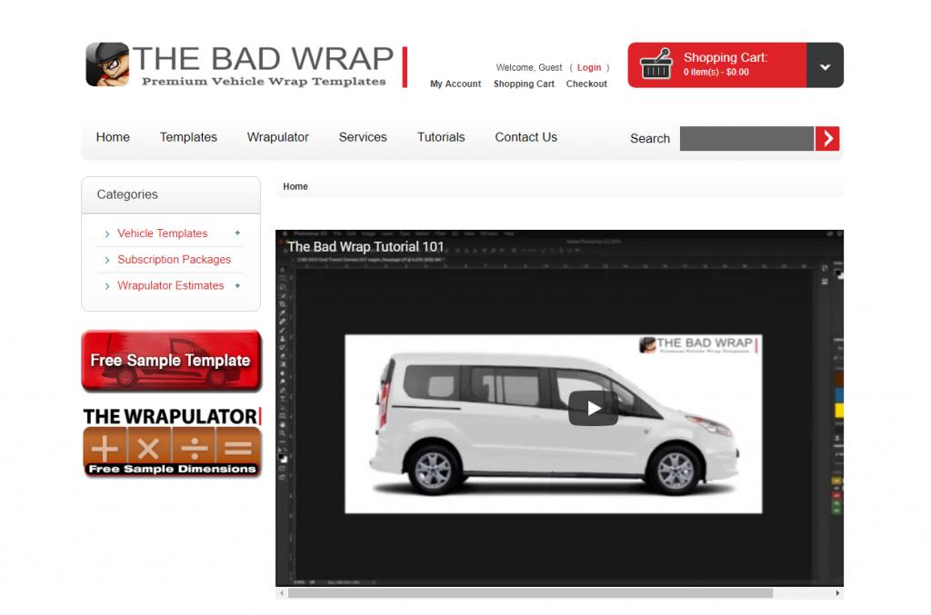 Free Online Vehicle Wrap Templates