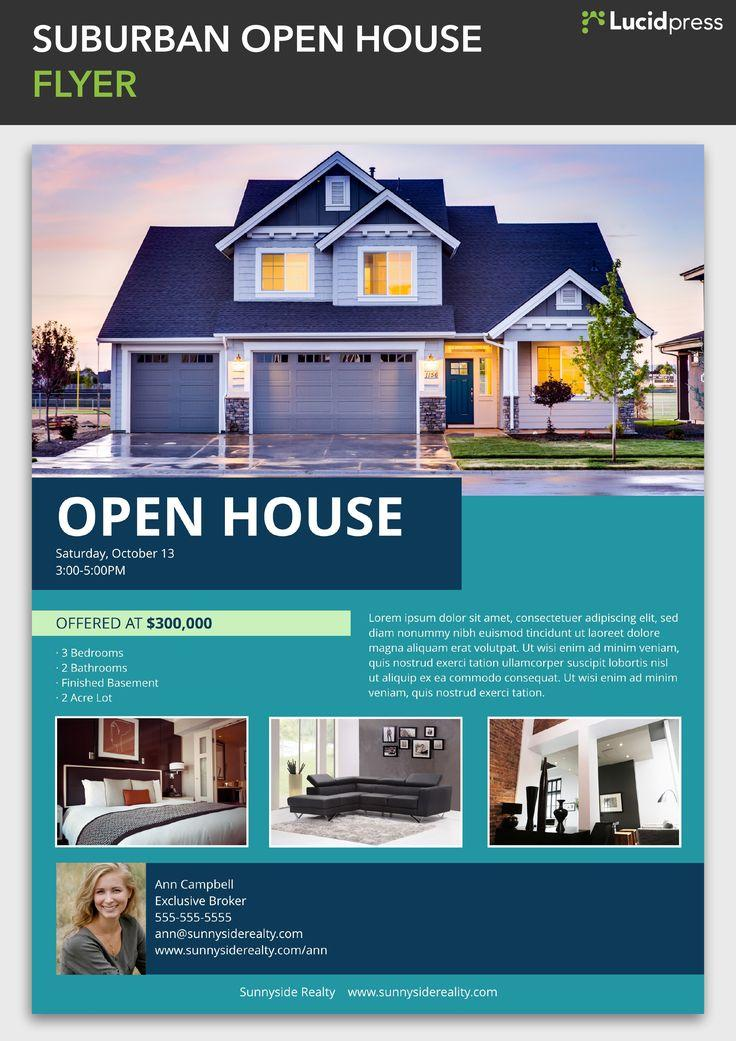 Free Open House Mortgage Flyer Templates