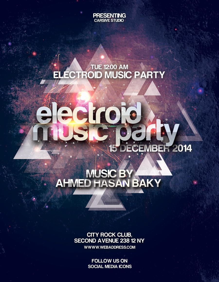 Free Party Flyer Templates Online