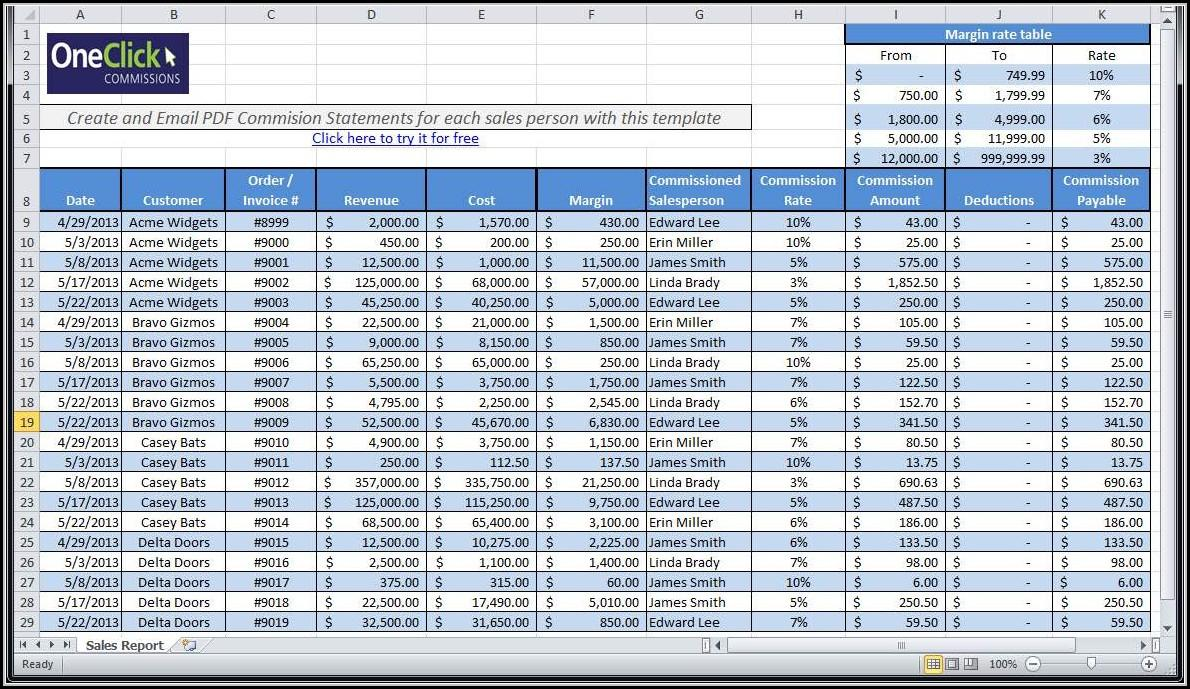 Free Payroll Template Download