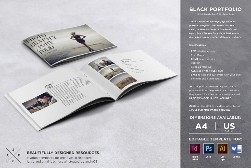Free Pdf Portfolio Templates For Designers