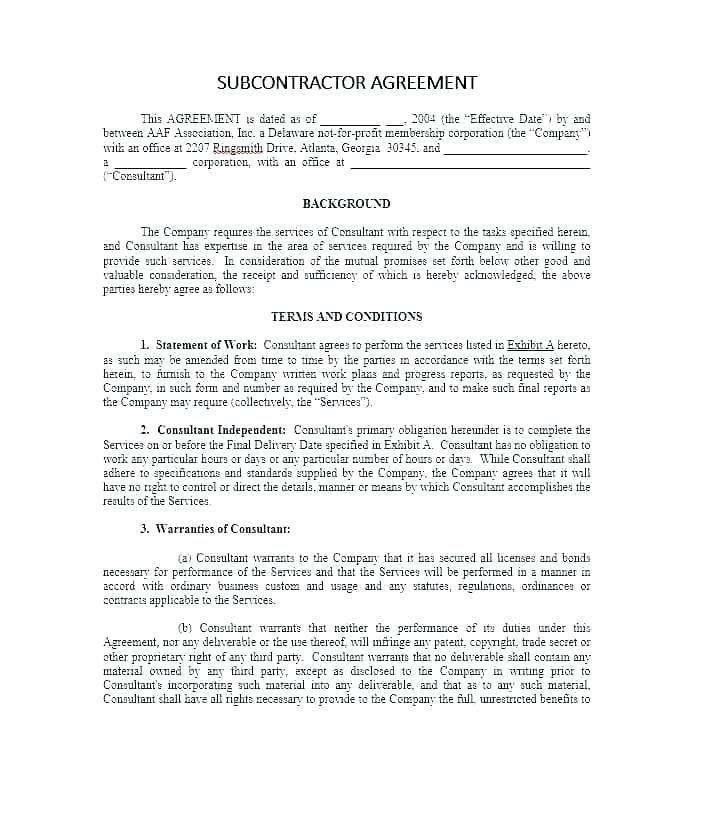 Free Pest Control Service Agreement Template