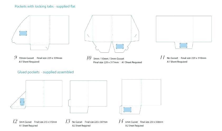 Free Pocket Folder Design Template