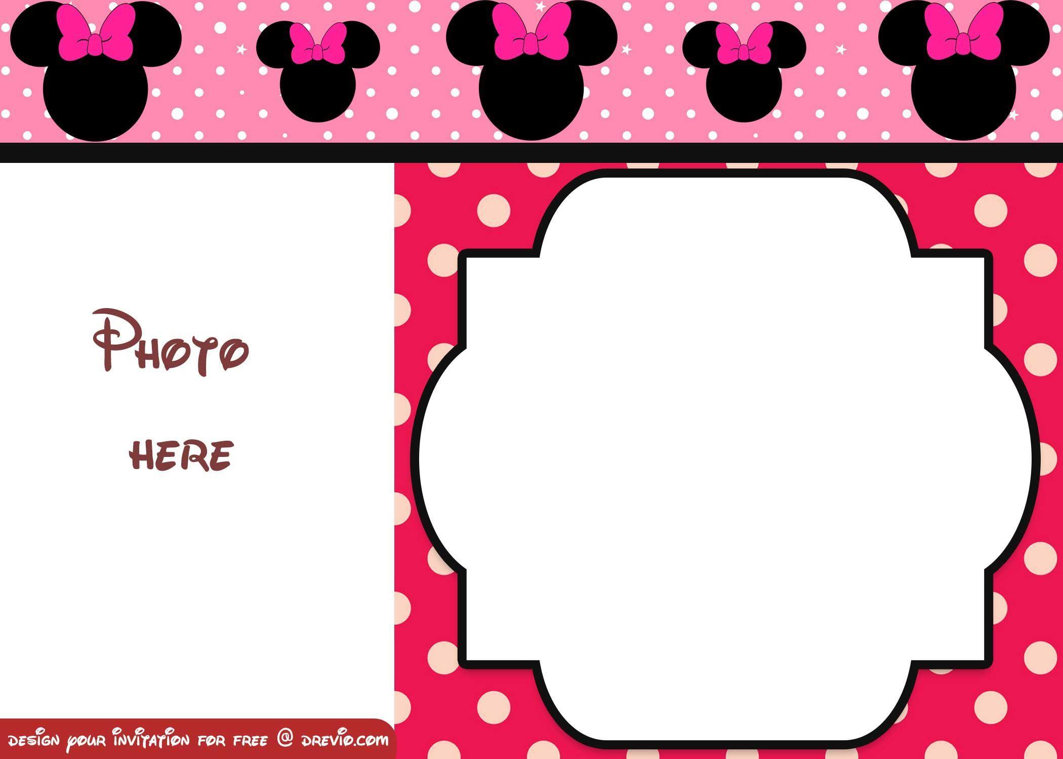 Free Polka Dot Birthday Invitation Templates
