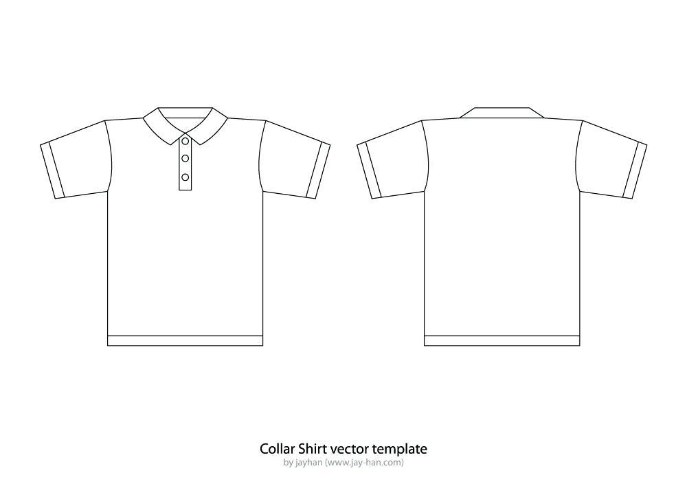 Free Polo Shirt Template Ai