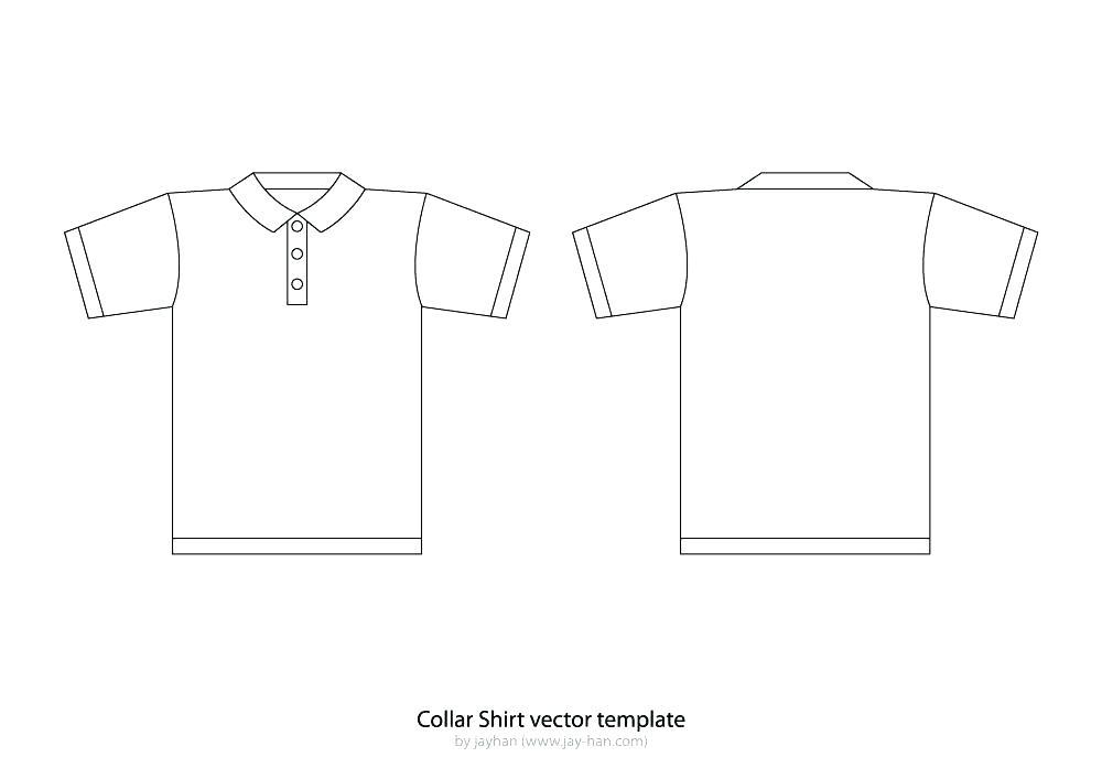 Free Polo Shirt Template Illustrator