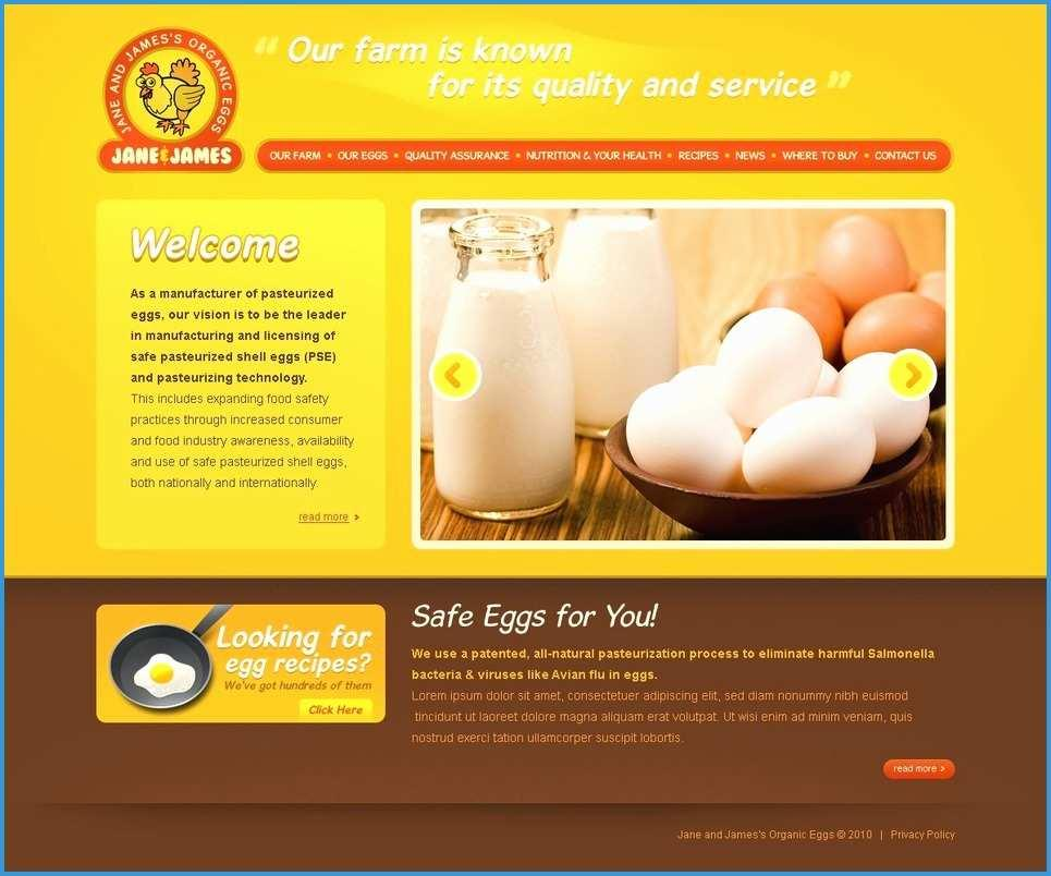 Free Poultry Website Template