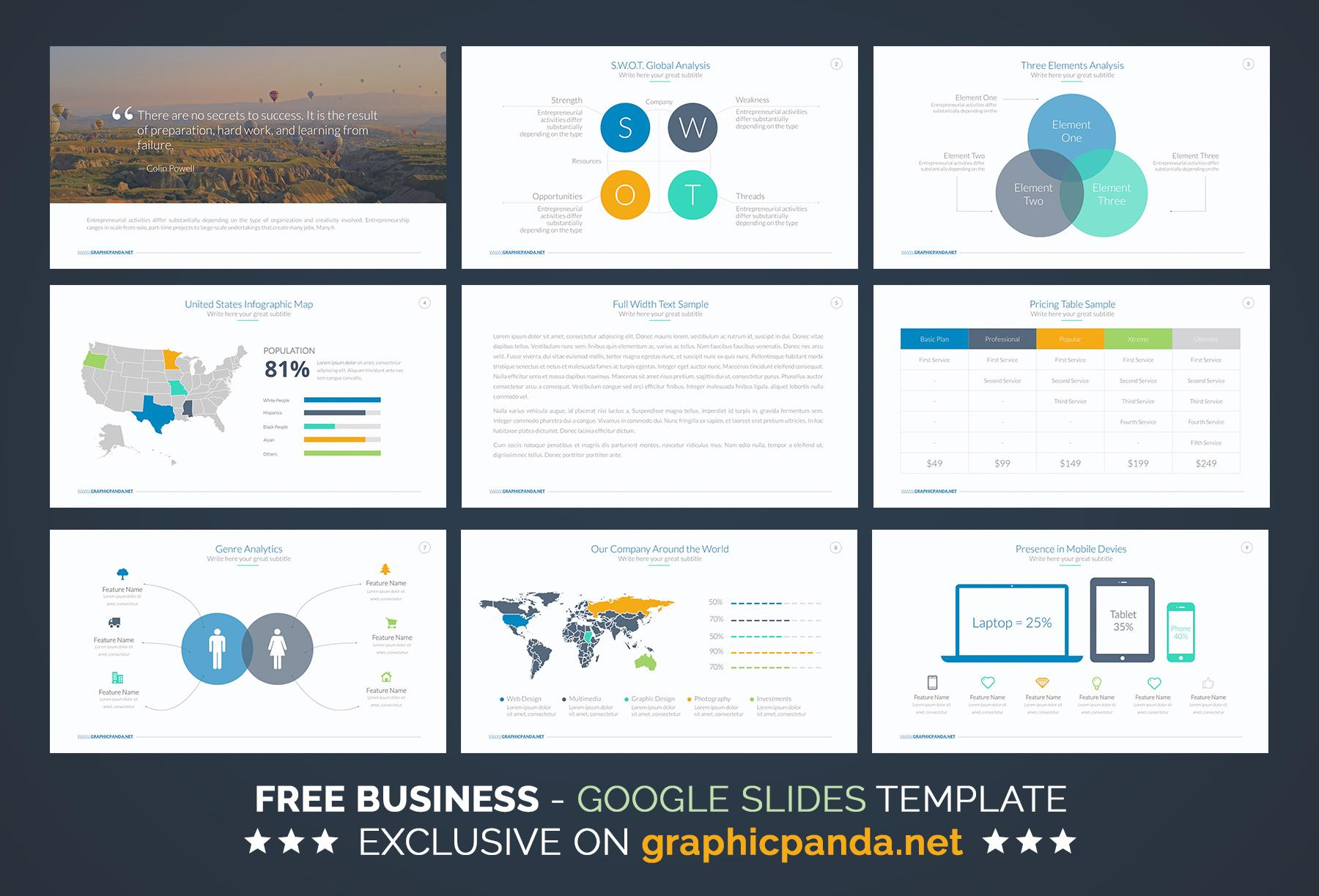 Free Powerpoint Templates For Proposals