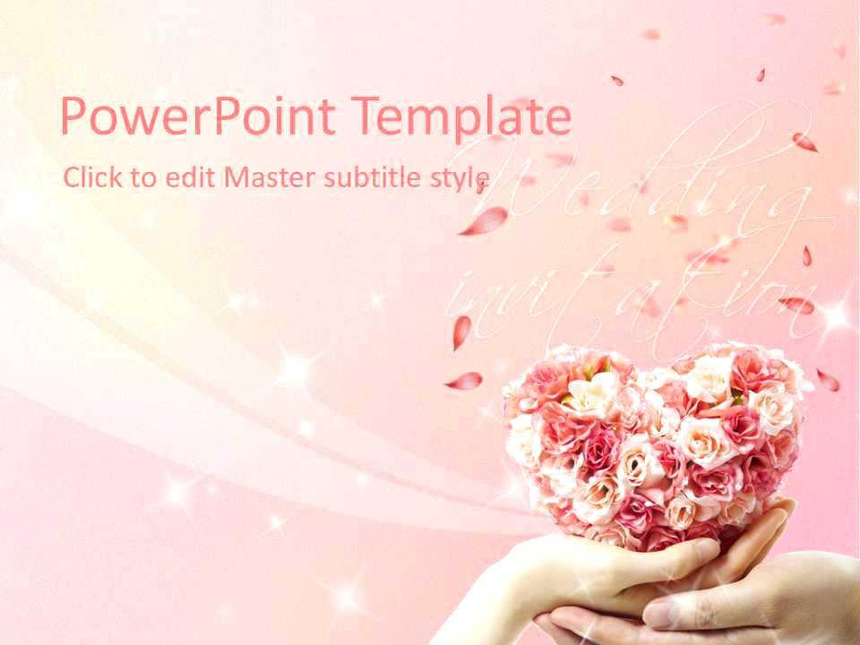 Free Pre Wedding Slideshow Template