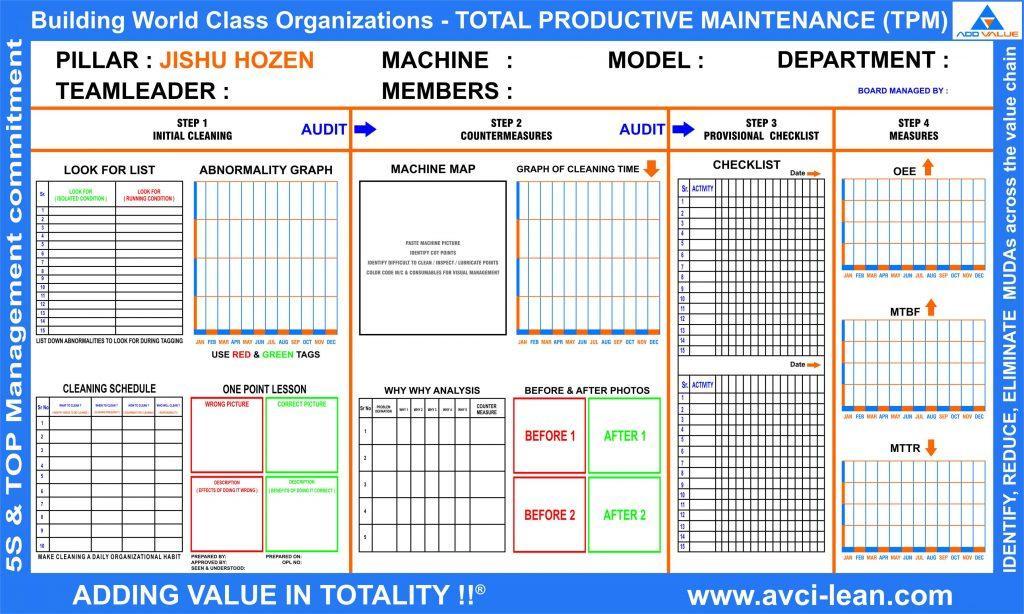 Free Preventive Maintenance Template Excel