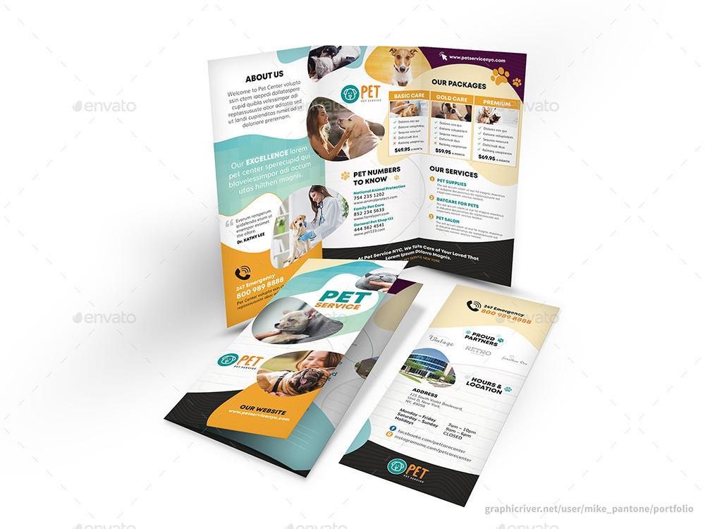 Free Printable Bi Fold Brochure Templates