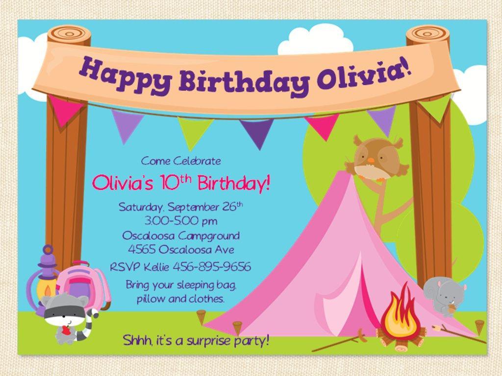 Free Printable Birthday Invitation Templates For Mac