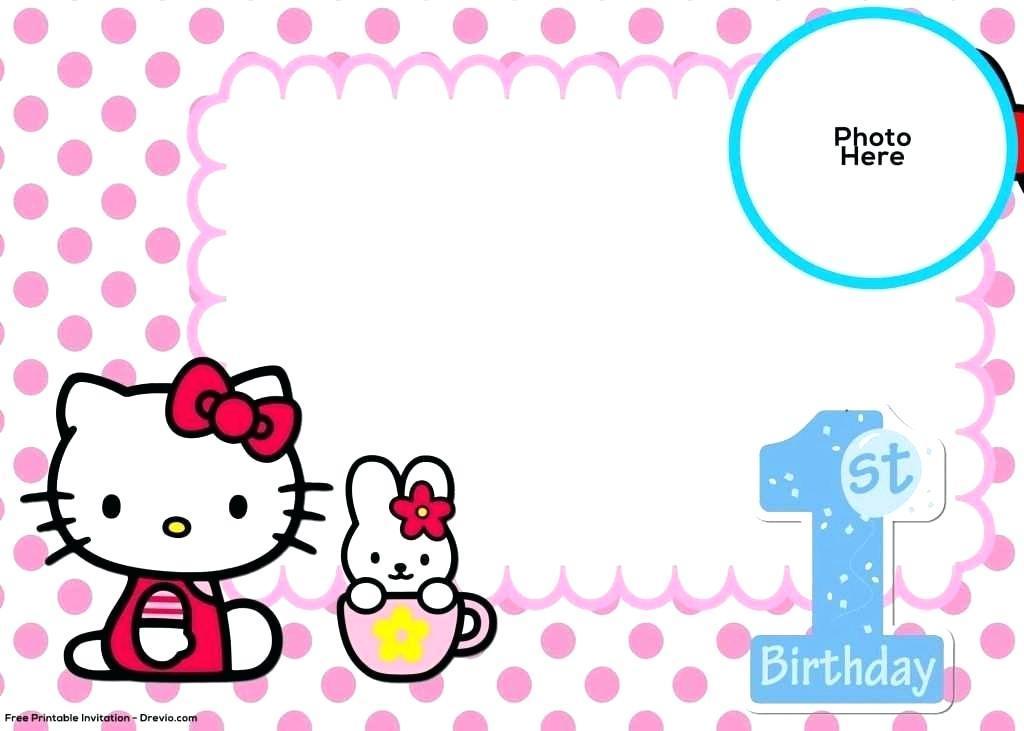 Free Printable Blank Birthday Invitation Templates