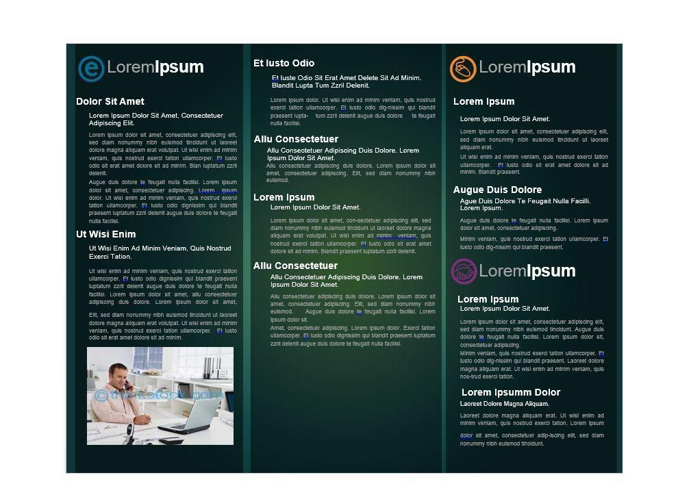 Free Printable Brochures Templates