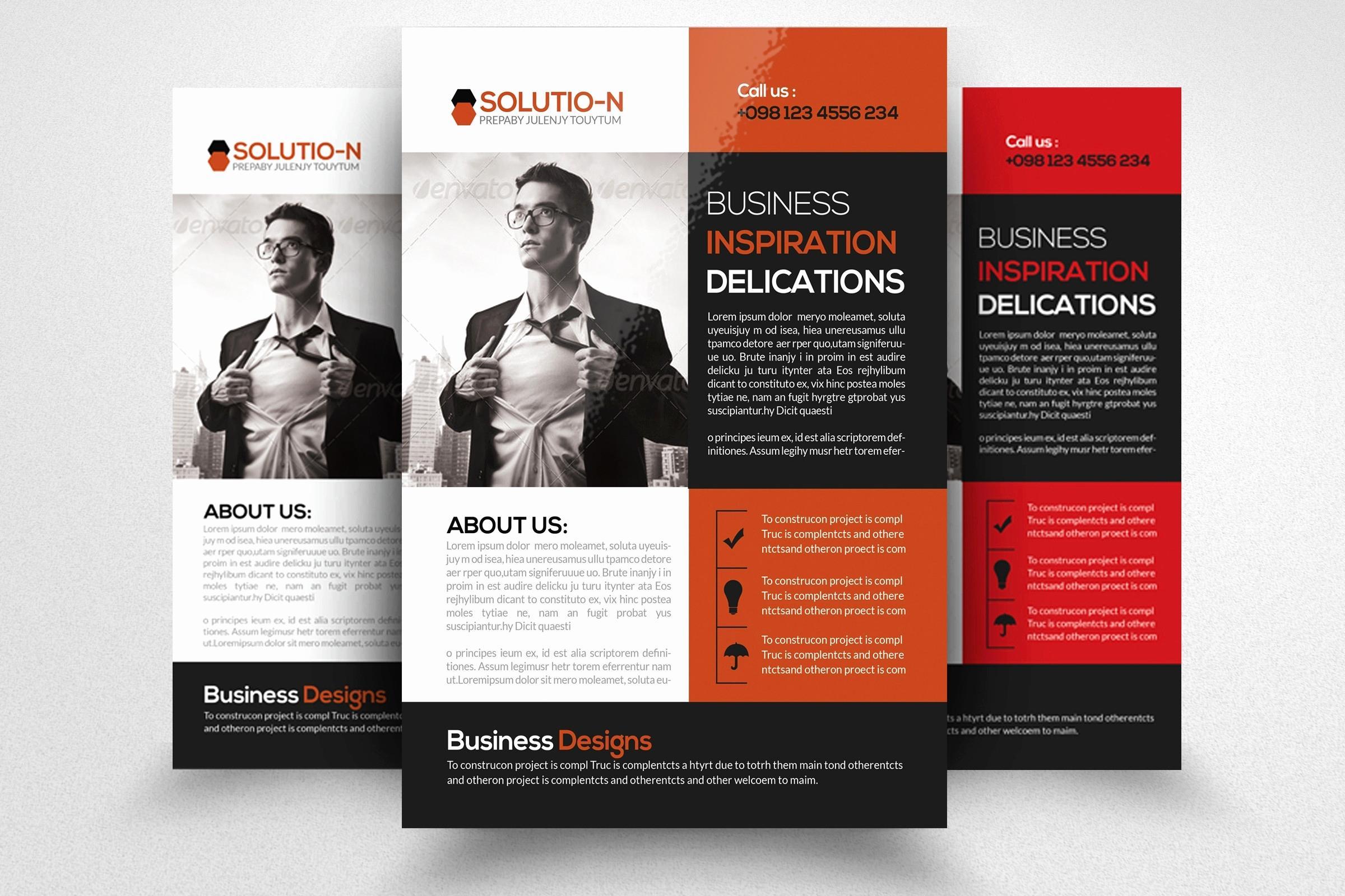 Free Printable Business Brochure Templates